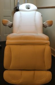 Bella Visage Medical and Esthetic Rejuvenation of Lakeland Esthetician Chair